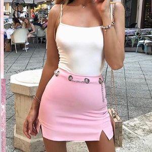 Dresses & Skirts - Misspap Chain Skort